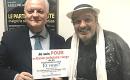 François Asselineau a reçu Philippe Pascot au siège de l'UPR et approuve sa pétition pour que les candidats à un mandat électif aient un casier judiciaire vierge.