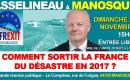 Dimanche 20 novembre 2016 – François Asselineau à la rencontre des Français dans les ALPES-DE-HAUTE-PROVENCE – Grande réunion publique à MANOSQUE à 15h00