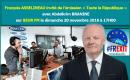 François ASSELINEAU invité de l'émission « TOUTE LA RÉPUBLIQUE » sur BEUR FM le 20 novembre 2016