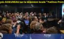 La télévision locale «Yvelines Première» rend compte, dans son journal du soir du 6 décembre 2016, du succès de la grande réunion publique de François Asselineau à Saint-Germain-en-Laye le 1er décembre