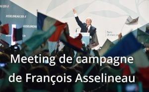 Meeting de campagne de François Asselineau à Strasbourg (67)