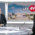 François Asselineau invité des 4 Vérités sur France 2 le 17 avril