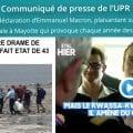 COMMUNIQUÉ | L'UPR exprime son dégoût et son extrême indignation devant la déclaration de M. Macron sur les Comoriens