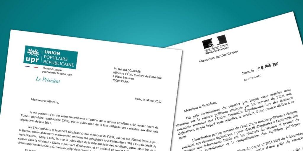 Le ministre de l int rieur adresse une fin de non recevoir for Adresse ministere de l interieur