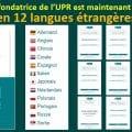 LA CHARTE FONDATRICE DE L'UPR EST MAINTENANT DISPONIBLE EN 12 LANGUES ÉTRANGÈRES.