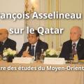 Intervention de François Asselineau lors du Colloque organisé par le Centre des études du Moyen-Orient