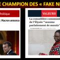 === MACRON, LE CHAMPION DES « FAKE NEWS » ======== par Yavar SIYAHKALROUDI