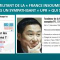 LE MILITANT DE LA « FRANCE INSOUMISE » N'EST-IL PAS UN SYMPATHISANT « UPR » QUI S'IGNORE ? — par Yavar Siyahkalroudi