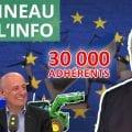 ENTRETIEN N°58 – 30000 adhérents – Syrie – Soros – Travailleurs détachés – Agriculteurs – Justice