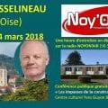 François ASSELINEAU à Noyon (Oise) ce samedi 24 mars 2018