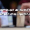 COMMUNIQUÉ DE PRESSE : L'UPR progresse et obtient 1,07% des suffrages à l'élection législative partielle de Haute-Garonne