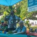 Première semaine de François Asselineau en Polynésie française pour les élections territoriales d'avril 2018.