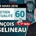 ENTRETIEN N°60 – Manifestation du 22 mars – Attentat dans l'Aude – Marche blanche – Skripal – Mickey – Rats à Paris – Polynésie – Appel à manifester le 1er mai