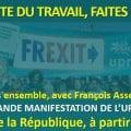TOUS MOBILISÉS POUR LA 1re GRANDE MANIFESTATION DE L'UPR LE 1er MAI À PARIS ! Trajet de la place de la République à la place du Châtelet.