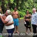 François Asselineau en campagne pour la liste UPR aux élections territoriales en Polynésie : 2e semaine