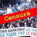 ANALYSE D'UN SCANDALE MÉDIATIQUE ET DÉMOCRATIQUE La censure totale par les grands médias de notre manifestation parisienne du 1er mai 2018.