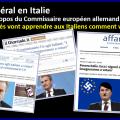 == Communiqué de presse == HALTE A L'EURODICTATURE ! L'UPR demande à la France d'exiger la démission immédiate du Commissaire européen allemand Günther Oettinger.