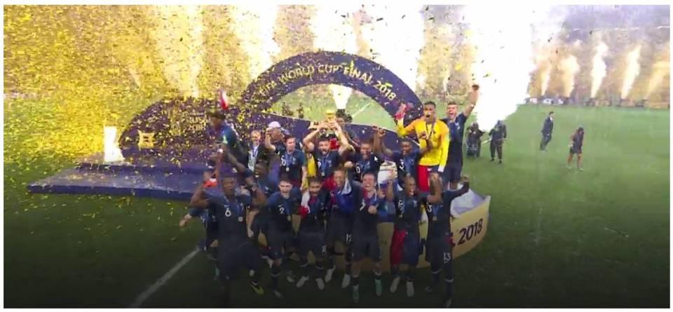 La France Championne Du Monde De Football 2018