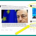 Sur son fil de messages Twitter, CLEMENS FUEST, l'un des économistes les plus écoutés du gouvernement et du patronat allemands, APPROUVE LES ANALYSES DE L'UPR SUR L'EURO.