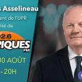 François Asselineau répond aux questions de Jean-Jacques Seymour sur Tropiques FM – 30/08/2018 – 20h