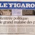 LE GRAND MALAISE DU FIGARO – Le quotidien affirme que tous les partis politiques seraient «désargentés et en proie à un exode de leurs militants» mais… fait silence sur l'UPR !