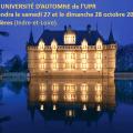=== À RÉSERVER SUR VOTRE AGENDA ET À PARTAGER !! === La 7e UNIVERSITÉ D'AUTOMNE de l'UPR se tiendra le samedi 27 et le dimanche 28 octobre 2018  à Vallères (Indre-et-Loire).