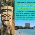 Exceptionnellement en Nouvelle-Calédonie ! = CONFÉRENCE DE FRANÇOIS ASSELINEAU « PEUT-ON ENCORE AVOIR CONFIANCE EN LA POLITIQUE ? » à Nouméa le 26 septembre.