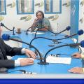 François Asselineau a été «l'invité du matin» de Radio Rythme Bleu, l'une des émissions radio les plus écoutées de Nouvelle-Calédonie
