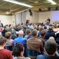Très gros succès pour la conférence de François Asselineau à Antibes : 230 personnes se sont rassemblées dans la salle prêtée par la mairie, devenue archi-comble !