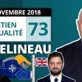 EA73 : Macron et les années 30 – Essence – Mélenchon – Alsace – Brexit – OTAN – Université