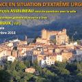 « LA FRANCE EN SITUATION D'EXTRÊME URGENCE » – Un exposé de François Asselineau face au public le jeudi 8 novembre à 19H00 à Montauroux (83440).