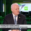 François Asselineau a été interrogé par RT France sur le projet d'Assemblée parlementaire franco-allemande lancé par Macron.