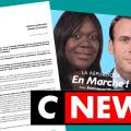 Découvrez le scan de la lettre remise sur le plateau de CNEWS par François ASSELINEAU à Lætitia AVIA, Députée et Porte-Parole de En Marche !, pour réclamer la destitution de Macron.