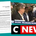 Découvrez le scan de la lettre remise sur le plateau de CNEWS par François ASSELINEAU à Antoine Leaument (responsable de FI) pour qu'il la transmette à Jean-Luc MÉLENCHON.