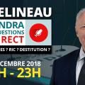 François Asselineau répond en direct à vos questions sur YouTube – 23 décembre 2018