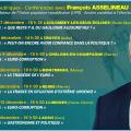 PROCHAINES RÉUNIONS PUBLIQUES ET CONFÉRENCES AVEC FRANÇOIS ASSELINEAU en décembre 2018 : Haute-Marne, Aube, Marne, Haute-Vienne , Gers…