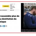 Partout en France, la pression monte pour le lancement de la procédure de destitution de Macron par l'article 68 de la Constitution. Pourtant, tous les parlementaires s'y opposent pour le moment..