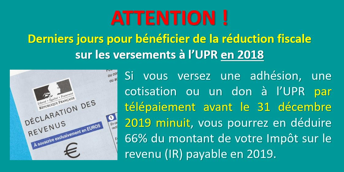 Attention Derniers Jours Pour Beneficier De La Reduction