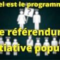 Référendum d'initiative populaire : François Asselineau et l'UPR sont pour !