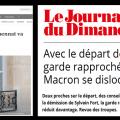 Pendant que Macron et son gouvernement foncent dans le mur et que l'Élysée sombre dans une ambiance irrespirable, les rats quittent le navire…