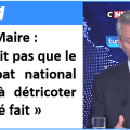 Bruno Le Maire jette déjà le masque : pas question que le « grand débat national » touche à l'ISF, ni à l'IS, ni à quoi que ce soit d'important !