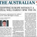 Un Brexit sans accord ne fait pas peur aux Australiens…