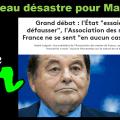Nouveau désastre pour le «Grand débat national» de Macron : L'Association des Maires de France (AMF) lui fait un bras d'honneur.