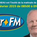 Réécoutez l'entretien de François ASSELINEAU, invité de la matinale de BEUR FM le lundi 4 février 2019 de 08h00 à 09h00.
