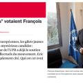 Un article de France Inter sur François Asselineau et la liste UPR aux élections européennes.