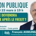 Grande réunion publique de François Asselineau à Saint-Germain-en-Laye le 23 mars 2019 à 19h