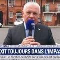 Interview de François Asselineau en direct sur BFMTV depuis Londres à propos du Brexit.