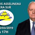 François Asselineau sera sur Radio Gazelle le 10 mars 2019 à 17h