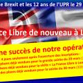 Ruée sur les inscriptions à notre opération «LA FRANCE LIBRE DE NOUVEAU À LONDRES» !