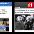 Le Conseil des droits de l'Homme de l'ONU réclame une enquête sur la répression policière en France et condamne «l'usage excessif de la force» du régime de Macron.